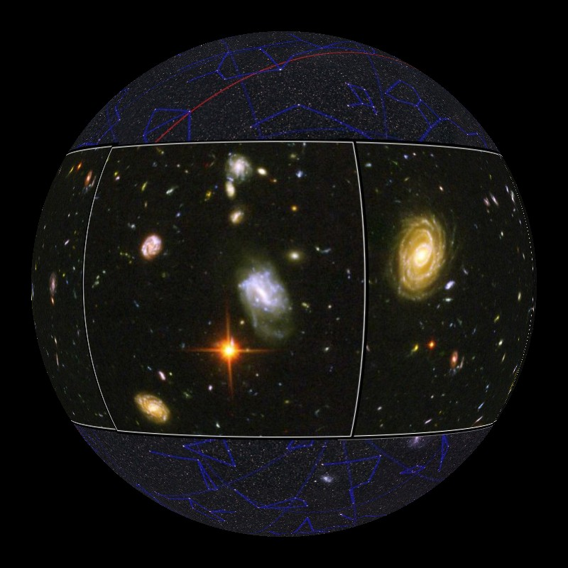 hubble telescope constellation - photo #7