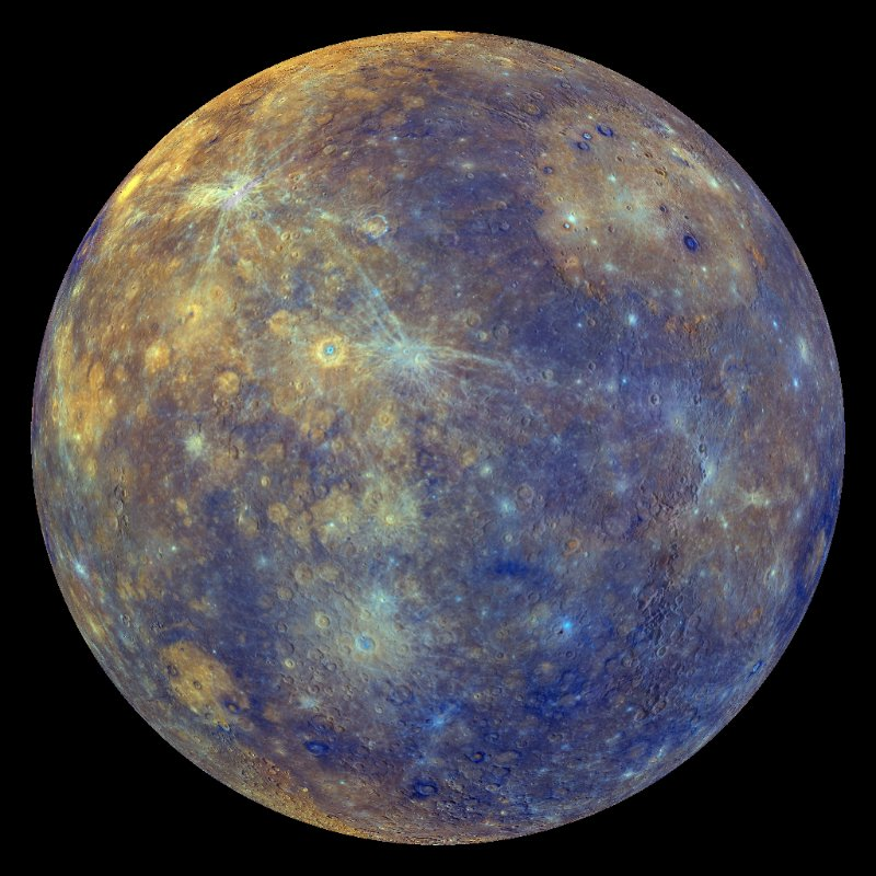 mercury planet color - photo #2