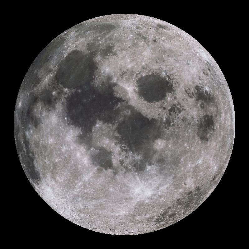 Moon Dataset | Science On a Sphere