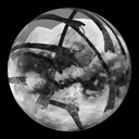 Titan: Saturn's Moon (RADAR swaths) thumbnail