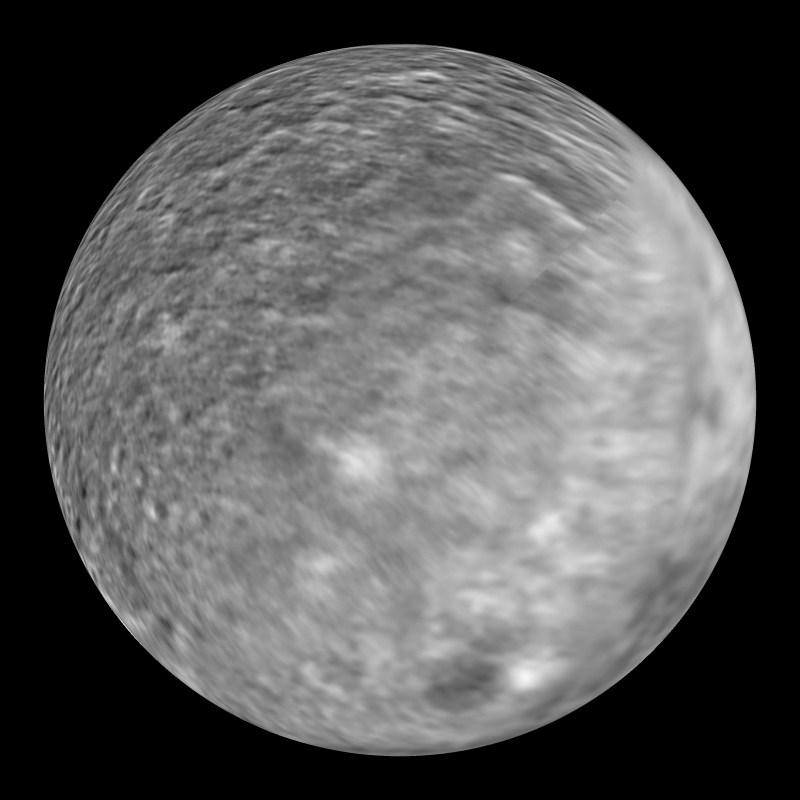 Umbriel: Uranus' moon Dataset | Science On a Sphere