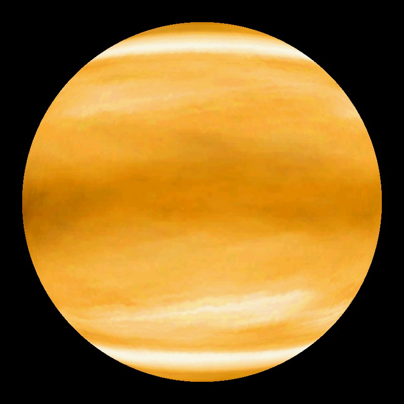 Venus: Animation of Clouds, Brightness, Topography Dataset ...