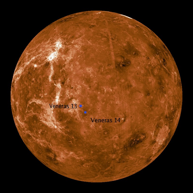 the planets venus physical features - photo #12
