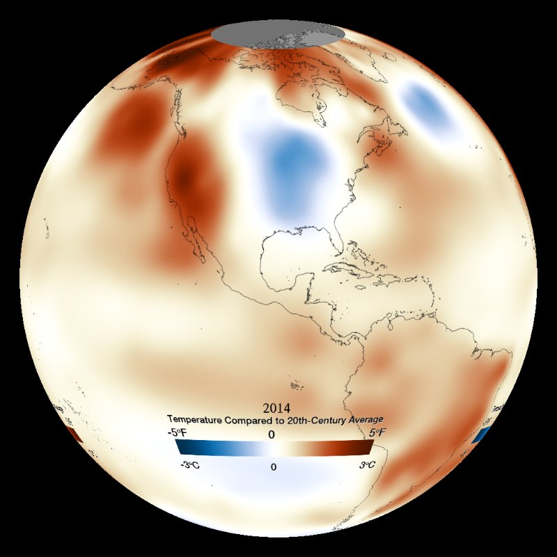 Temperature Anomaly: Yearly (NOAA) - 1880 - Present thumbnail
