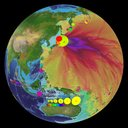 Japan Earthquake and Tsunami Wave Heights - March 2011