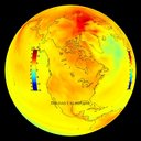 Climate Model: Temperature Change (Hadley b1) - 1870 - 2100 thumbnail