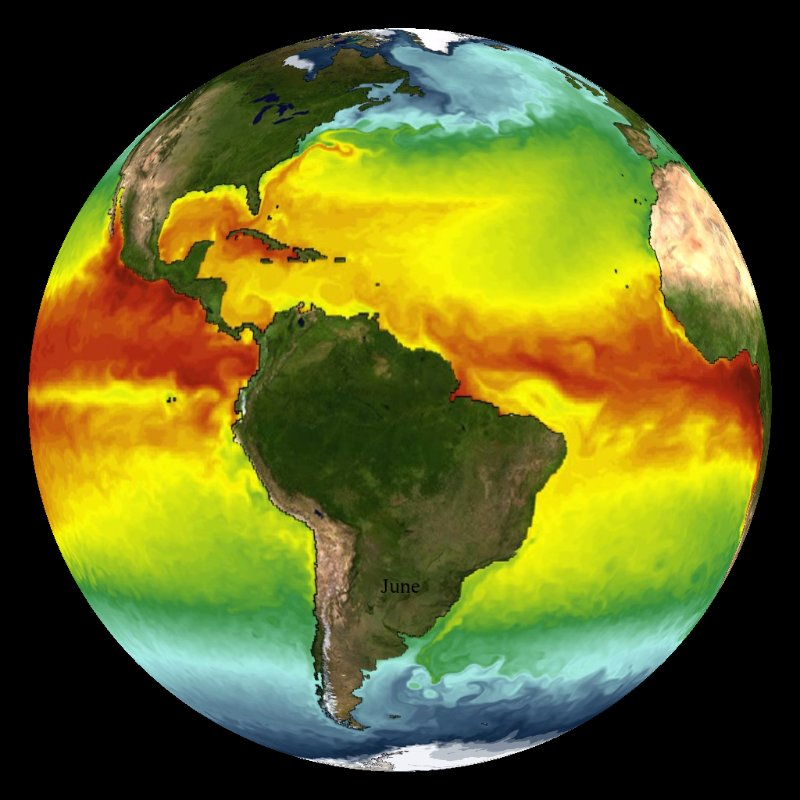 Sea Surface Temperature NOAA Model (with vegetation) thumbnail