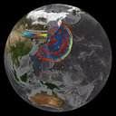 Japan Tsunami Wave Propagation - March 11, 2011