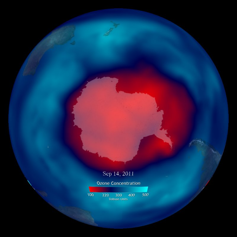 Ozone: Stratospheric - Real-time thumbnail