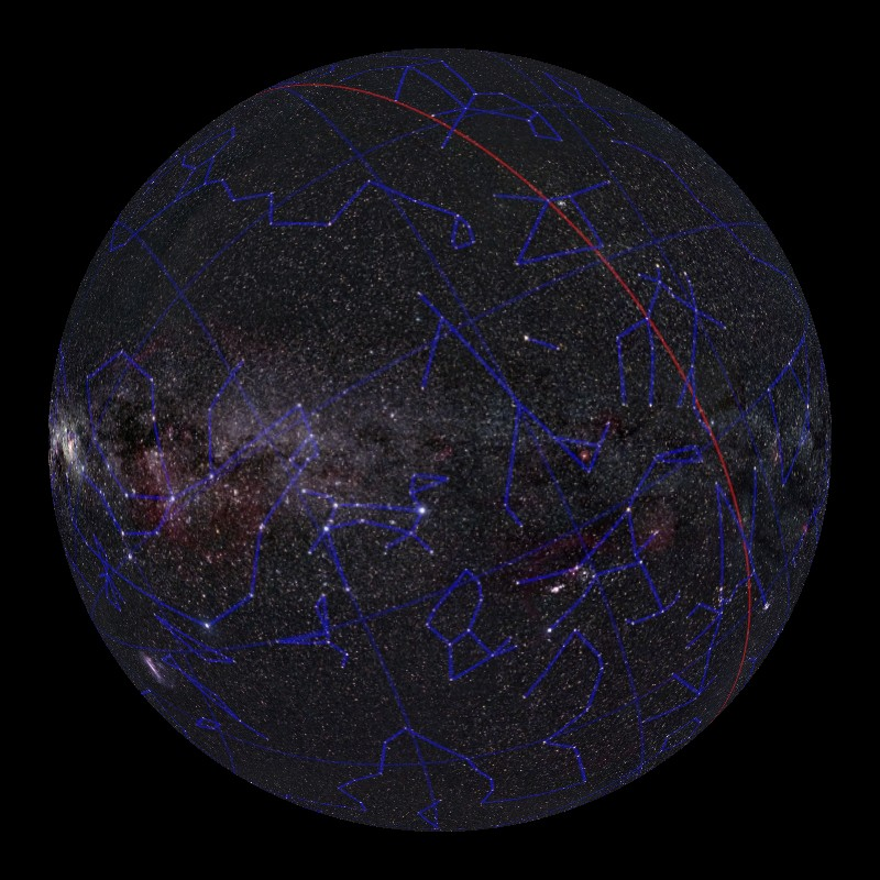 moving pictures of constellations and solar system - photo #32