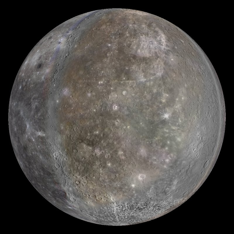 Do you have any pictures of the planet mercury
