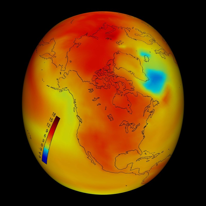 Riscaldamento della superficie terrestre